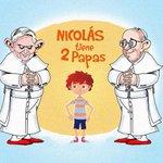 Tener dos papás no es malo; tener dos papas, sí. #NicolasTieneDosPapas http://t.co/MNnBNfjWzi