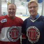 RT @uvwebdesign: @HHTHKW Paul Reitzel and Mark Wolf at the Hockey Helps the Homeless tourn, RIM Park #kwawesome #wrawesome http://t.co/54C0J7tJQA