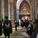 RT @Rokkster: Privileged to be at the graduation ceremony of @ExeterCollege degree students at Exeter Cathedral. Congrats to all. http://t.co/eBjc8zi1go