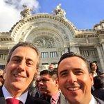RT @pepechedraui: En el Palacio de Bellas Artes con mi amigo y compañero diputado @pabloporpuebla #México #PRI http://t.co/FtQgWWReOD