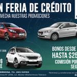 RT @PeugeotVhsa: Gran Feria de Crédito #Peugeot #Villahermosa hasta el 26 de octubre de 2014. Ven y aprovecha nuestras promociones! http://t.co/kV9FV89LbD