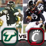 RT @CarlSchmid: Its GAMEDAY! Nothing beats #Bearcats football under the lights on a Friday night! #BeatUSF @max25morrison @prezono http://t.co/IVUk4E8uno