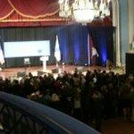 RT @MarkKWBZ: #Boston Park Plaza ballroom filling up for #HillaryClinton and #MarthaCoakley. #wbz http://t.co/gwUbESwyvg