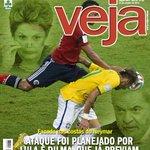 Lula e Dilma armaram a contusão de Neymar, revela @VEJA. #DesesperoDaVeja http://t.co/iBNh6OgYGK