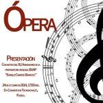 La Compañía de Ópera BUAP se presenta hoy en Tecamachalco, Puebla http://t.co/3wM5mF437b