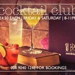 RT @poetbarandgrill: Whos coming down for Cocktail Club tonight? #cocktailclub #cocktails #belfast #belfasthour http://t.co/m9sSsBL33C