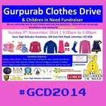 @salimesat *Upcoming #Leicester Event* #GCD2014 Gurpurab Clothes/Toy Drive & #ChildrenInNeed Fundraiser Pls RT http://t.co/WOt3EjEafZ
