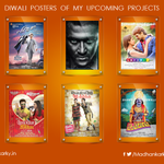 Happy to share these Diwali posters of my upcoming projects. Hope you all had a great time.