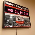 RT @PhoenixConvCtr: Let the countdown begin...100 Days to Super Bowl XLIX! #SB49 #SBCentral #dtphx http://t.co/WiSQX1FHxw