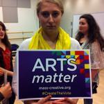 @SarahBarnhard knows that #ArtsMatter http://t.co/GHNRchOiuc