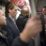 Mayor @BilldeBlasio joined fellow New Yorkers on their subway commute this morning. http://t.co/DpPU0H0jp6