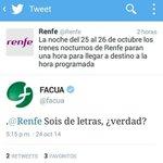 #MuyFan de @Renfe y @facua. http://t.co/qszEJJkP8T