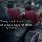 #TyrionLannister: Everyone knows a Lannister... #GameofThrones #GoTQuotes #GoT #PeterDinklage http://t.co/yPayL2fb6Z http://t.co/0jOfGWIdNh