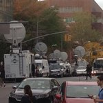 RT @BurrellTV: Just some of the media camped out at #BellevueHospital for #NYC first #Ebola case. #EbolaInNYC http://t.co/ZFhV6TX8pP