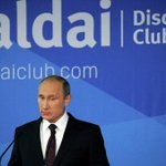 В. Путин:Медведь ни у кого разрешения спрашивать не будет и тайги своей он никому не отдаст. Надеюсь это всем понятно http://t.co/WgIKZJ1aba