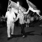 "RT @ladiaria: En #cierredecampaña Vázquez destacó la ""multitud"" acompañando el proyecto del @Frente_Amplio http://t.co/EJPOuv0gh1 http://t.co/zlhtiqvwCI"