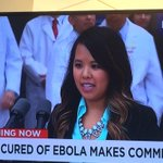 RT @USATODAY: I believe in the power of prayer. Nina Pham thanks caregivers, asks for prayers for other Ebola victims. http://t.co/3MpubKirt4