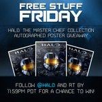 RT @Halo: Follow and RT for a chance to win a signed #Halo: The Master Chief Collection poster! http://t.co/bXe40MtoHV http://t.co/XG9wGEWW9D