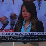 """I believe in the power of prayer""- said Ebola survivor Nina Pham http://t.co/KNFLaZhZtv"