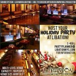 We are booking for the holidays! ❄️???? #holidayparty #nycvenue #nyc #les #libation #christmas http://t.co/vVh1gR2cVV