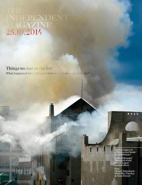 Where's there's smoke... tomorrow's @IndyMagazine cover. (pic by Jeff J Mitchell, story by @oscarquine) http://t.co/1GRJh5nldR