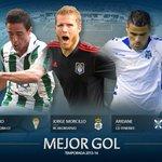 RT @canblanquiverde: También nominado Pedro Sánchez para el Mejor Gol #LigaAdelante1314 por su tanto al Mirandés http://t.co/VAXiwG8fSw http://t.co/PbBPzrkVy8