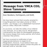 YMCA says Craig Morgenstern took pics at YMCA events where kids were present. MORE: http://t.co/9LsMfQVAjT #WatchKHQ http://t.co/bkoFKX3PJz