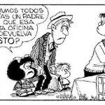 "Hoy Quino recibe el Príncipe de Asturias. Rescatamos 20 verdades que nos enseñó ""su"" Mafalda: http://t.co/lPwsEmLgOY http://t.co/n0hSa7oO0S"