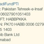 RT @PTIofficial: #FundNayaPakistan to get rid of status quo. Details are as follows: http://t.co/hM8A48760y