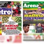 Dapatkan akhbar Harian Metro, Sabtu 25 Oktober. http://t.co/ij7r2AVZc2