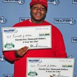 RT @BostonGlobe: Norwood man wins $25,000 a year for life, then realizes he has a second ticket with same prize http://t.co/jO8LjyFFj4 http://t.co/QprFwQBCrQ