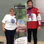 RT @R_beccaRoy: Mike Krushelnyski winner of 3 Stanley Cups (& Battle of the Blades celeb) meets Lynn Macaulay of HHUG! @HHTHKW http://t.co/y9e5ccshjW