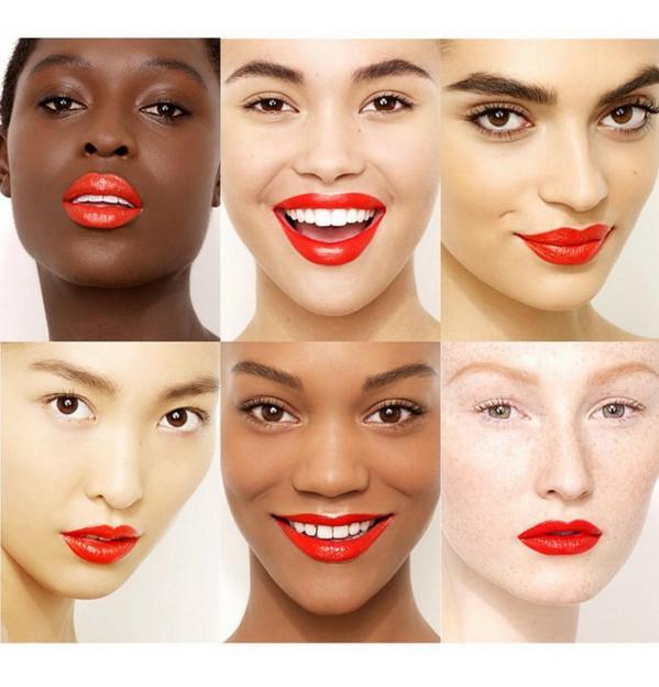 """Si dudas en usar lipstick rojo por tu tono de piel """"eres fria,calida,otoño,primera y todo lo que inventan""""solo usalo http://t.co/oFXqBFm2Am"""