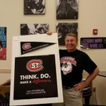 @stcloudstate Alum Terry Talbot currently at Gordan Parks HS supporting SCSU for College Knowledge Month! #huskypride http://t.co/qzDKZtY4ao