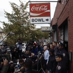 RT @CassLGarrison: Heres the scene outside The Gutter in Williamsburg, the bowling alley visited by Spencer. http://t.co/BnvZihsTLY
