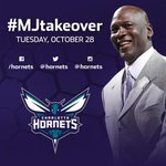 #ICYMI: Hornets Owner Michael Jordan taking over our social media accounts Tuesday #MJTakeover http://t.co/ERbhuY2iSy http://t.co/NK6zg6XESd
