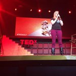 Knowledge is finite. Imagination is INFINITE! -Jen Band, Founder and Executive Director of @Playing4Others #TEDxCLT ???? http://t.co/oEtjJJbqY7