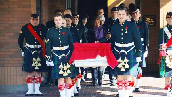 Cpl. Nathan Cirillo making his final journey home http://t.co/K9hWwIoXTy http://t.co/1bGYeOVJOI