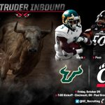 RT @UC_Recruiting: Under the lights on a Friday night on ESPN 2! #BeatUSF #IntruderInbound http://t.co/oVQjqS4hl9