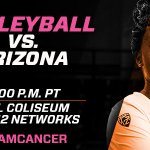 RT @BeavsVolleyball: Its GAMEDAY in Corvallis! The Beavs will be taking on Arizona tonight at 8pm. #SpikeOutCancer #DamCancer #GoBeavs http://t.co/gheN25DCns