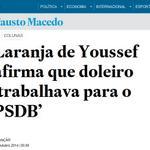 RT @RodP13: Doleiro 'trabalhava para o PSDB' http://t.co/NxnZMhhqXX #DesesperodaVeja ♫ O doleiro é tucano ♫ O doleiro é tucano http://t.co/KkB9j31OFO