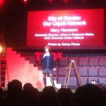 RT @PromisingPages: #creekpolice Mary Newsome @MeckCounty has 3,000 miles of creeks, dont hate: #lovecltcreeks @TEDxCharlotte http://t.co/mFB1cn2fgk