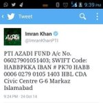 #FundNayaPakistan Your little Donation will Be the Reason to creat History, Kaptaan is fighting the Battle for us http://t.co/CXb7pWqPuP