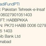 @PTIofficial daily Dharna expenditure of light and sound is 1 million. Donate #FundNayaPakistan http://t.co/SpKJcSyAWO