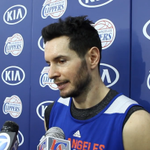 .@JJRedick discusses the Lakers and Steve Nash at practice. | WATCH → http://t.co/Dj5swXFJgB http://t.co/us0jMLJVOB