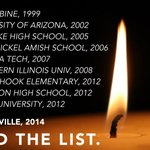 This is sadly but a handful of the terrible tragedies devastating our schools. Please RT this, and help #EndTheList http://t.co/6TwlTYCjq0