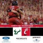 Gametime! Go #Bearcats Follow the game: http://t.co/XF8tERkBAu http://t.co/bnp56Mhf2A