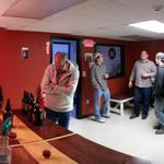 Great turnout at the taproom tonight! We enjoyed talking beer with all of you! #craftbeer #lowell http://t.co/CHz7YtTF4Z