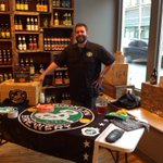 @BrooklynBrewery is pouring samples of Post Road Pumpkin. #Pittsburgh #Lawrencvile #butlersteet http://t.co/pwYtQZHN6i