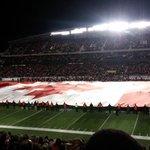 RT @REDBLACKS: Great shot RT @michelleaweger: The @REDBLACKS opening tribute to @CanadianForces was truly moving #MyOttawa #MyCanada http://t.co/xzk2NE0l90